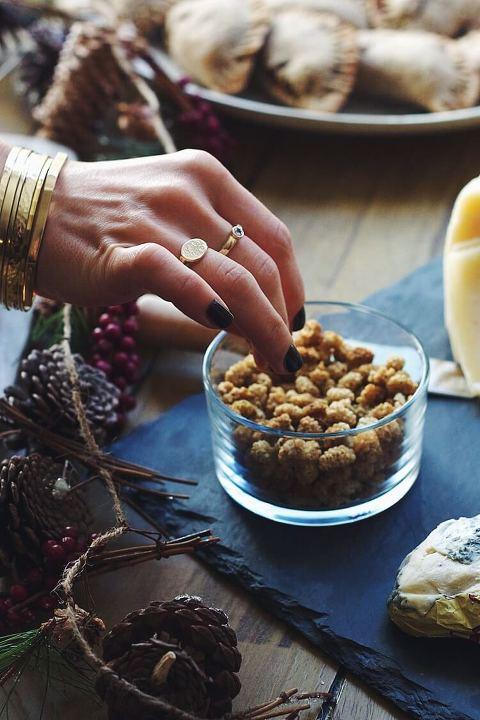 Winter Solstice celebration via Food by Mars