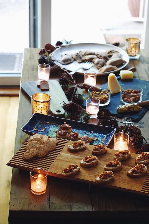 Winter Solstice Party via Food by Mars