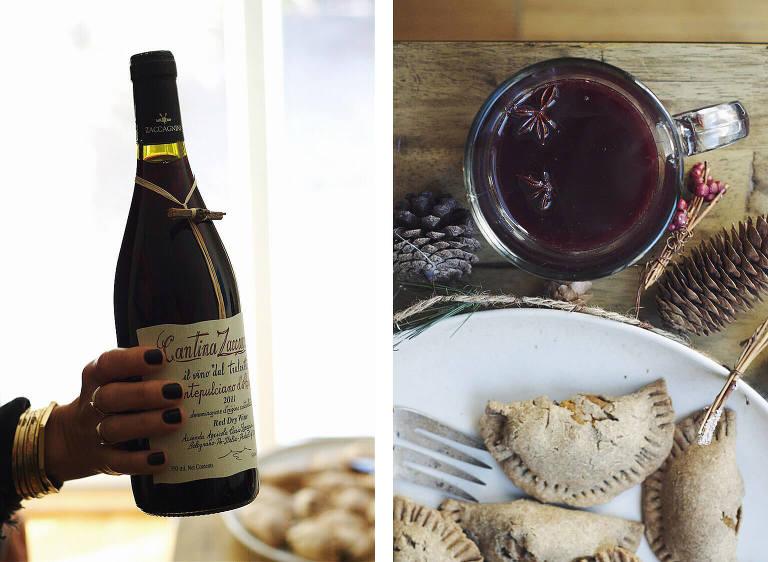mulled wine gluten-free empanadas via Food by Mars