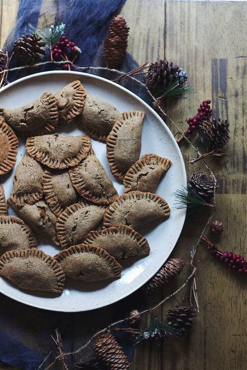 gluten-free empanadas black bean squash buckwheat via Food by Mars