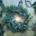 Winter Solstice celebration wreaths via food by mars