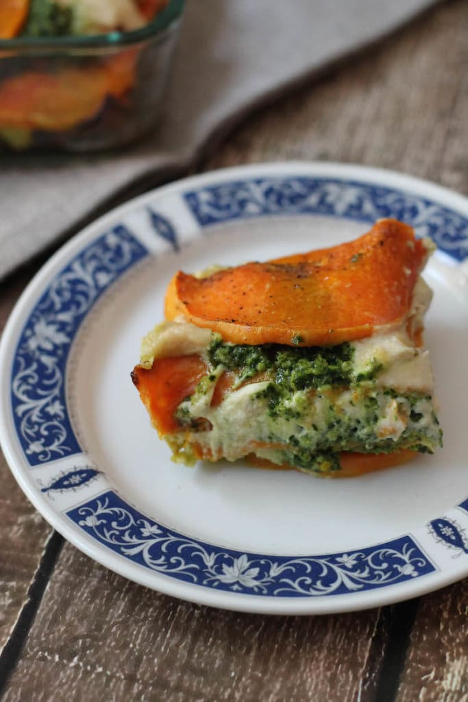 ways to use dairy-free cheese sauce in vegetable lasagna