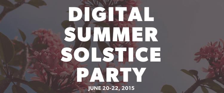 Summer Solstice #FBMSUMMERSOLSTICE Party!