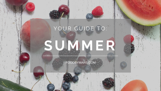 Seasonal Produce Guide for Summer