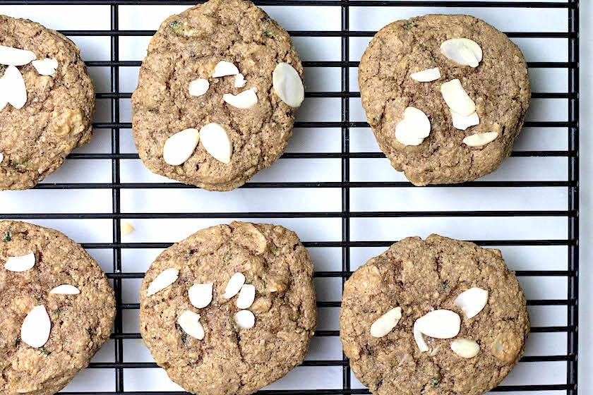 Almond Zucchini Cookies (GF + V)