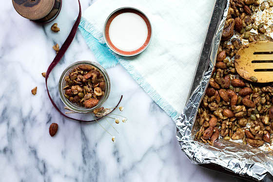 Maple Roasted Nuts & Edible Gift Inspiration