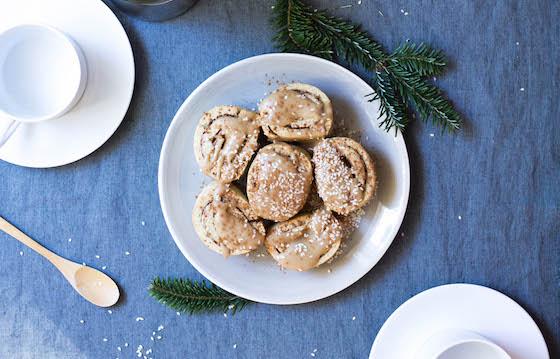 Maple Sesame Cinnamon Rolls (gluten-free, grain-free, dairy-free)