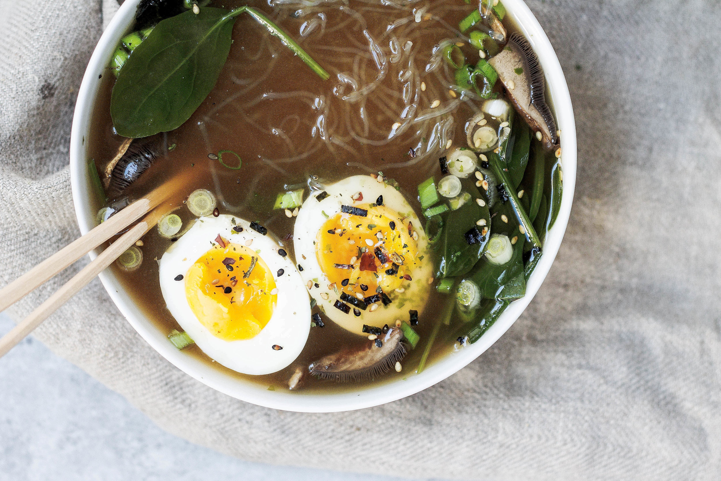 Weeknight Bone Broth Ramen (Paleo, Soy-free)