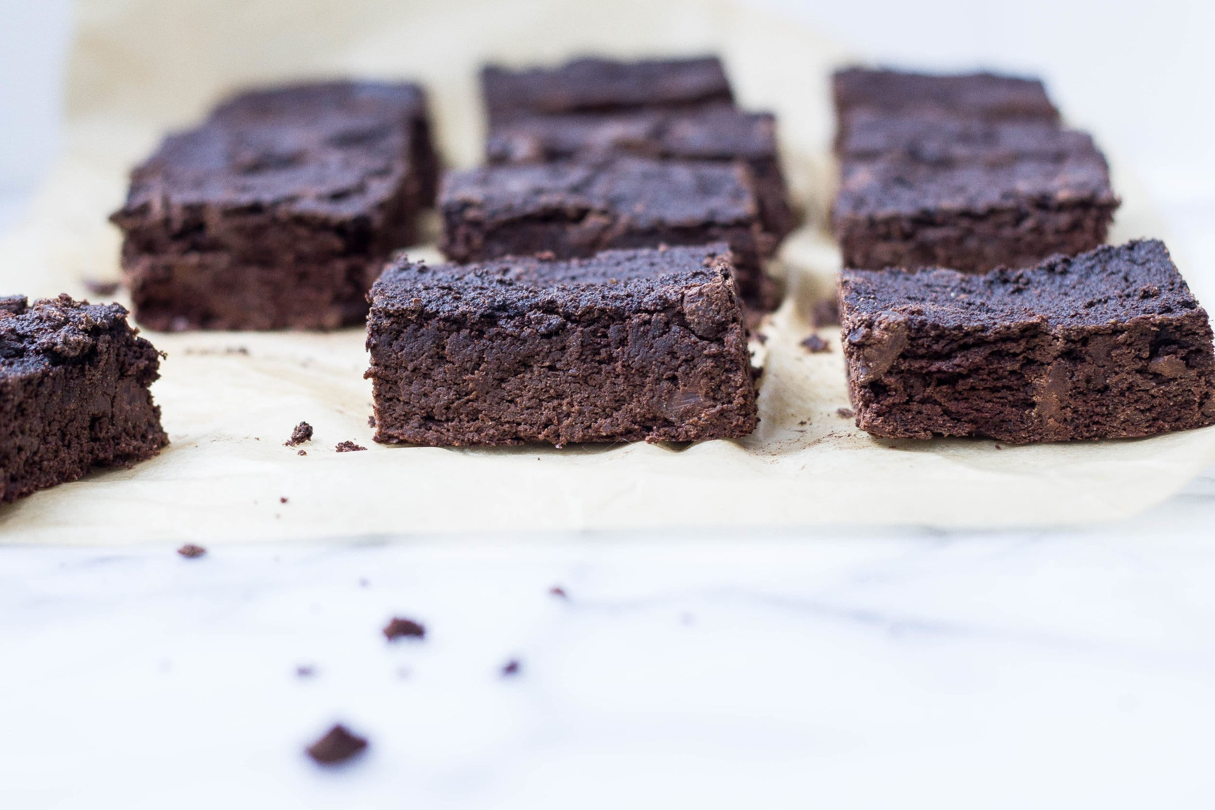 Squash Brownies (paleo, lightly sweetened)