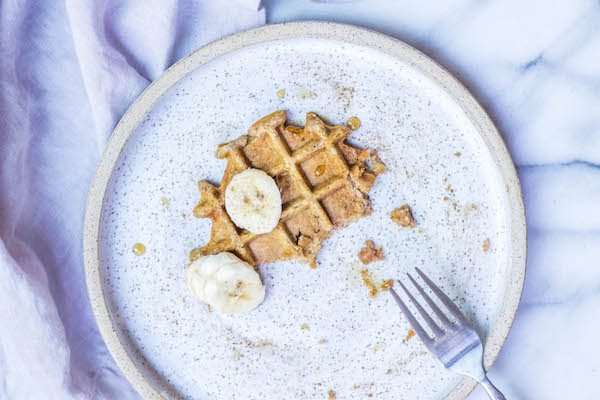 AIP Waffles made with Tigernut and Cassava Flour (Paleo, Vegan, Gluten-free and AIP friendly)