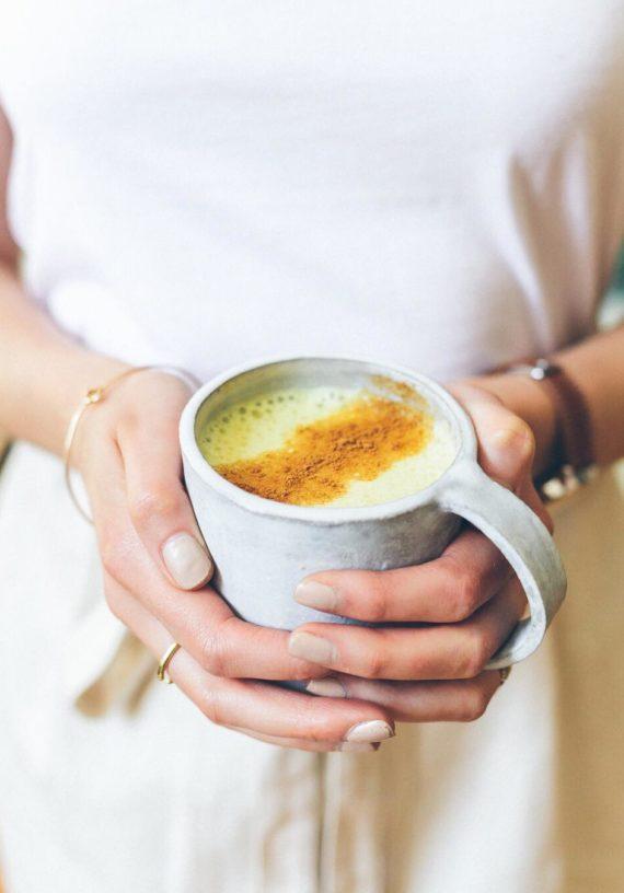 caffeine-free pumpkin spice turmeric latte