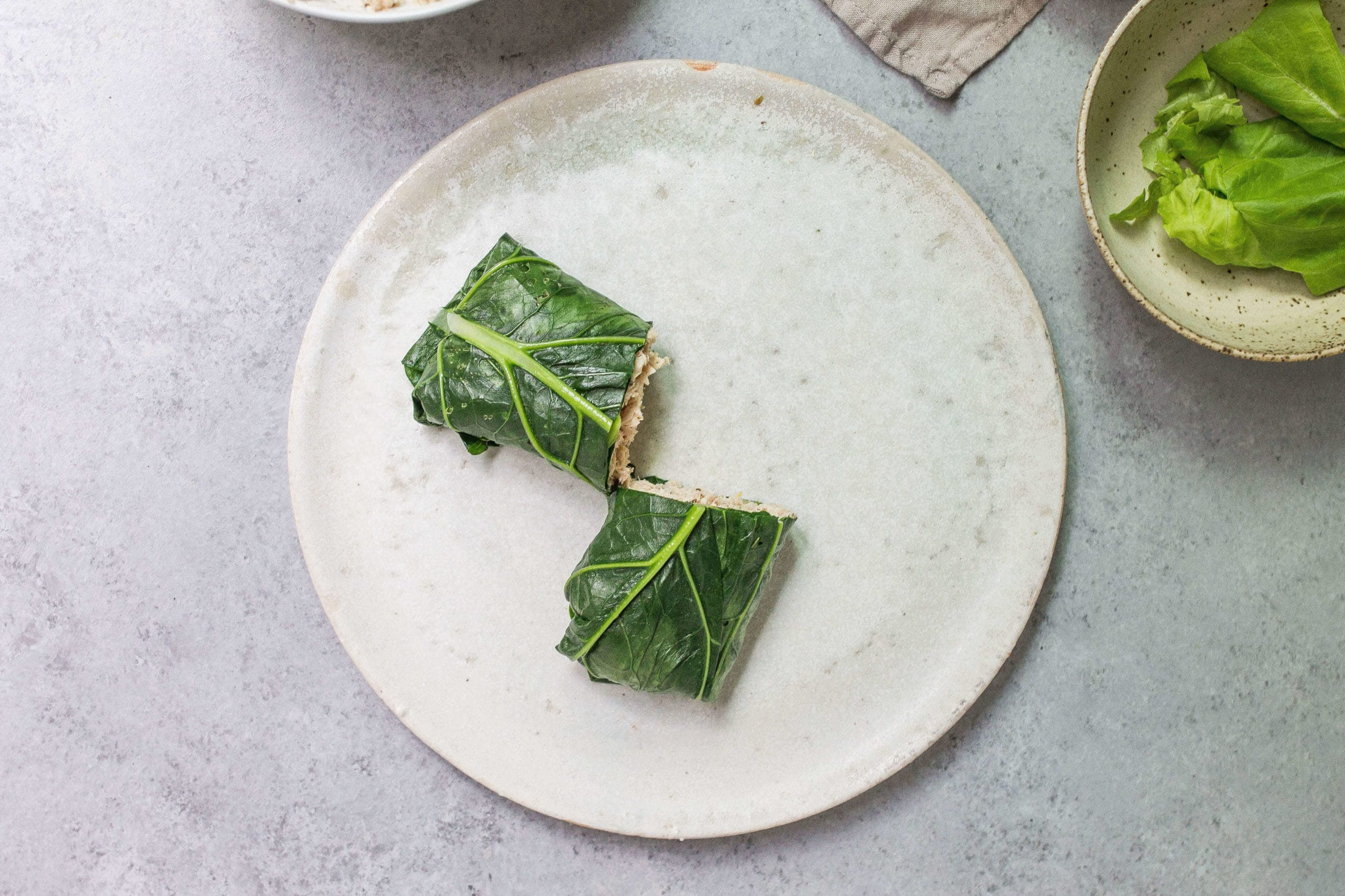 Collard Green Wraps via Food by Mars