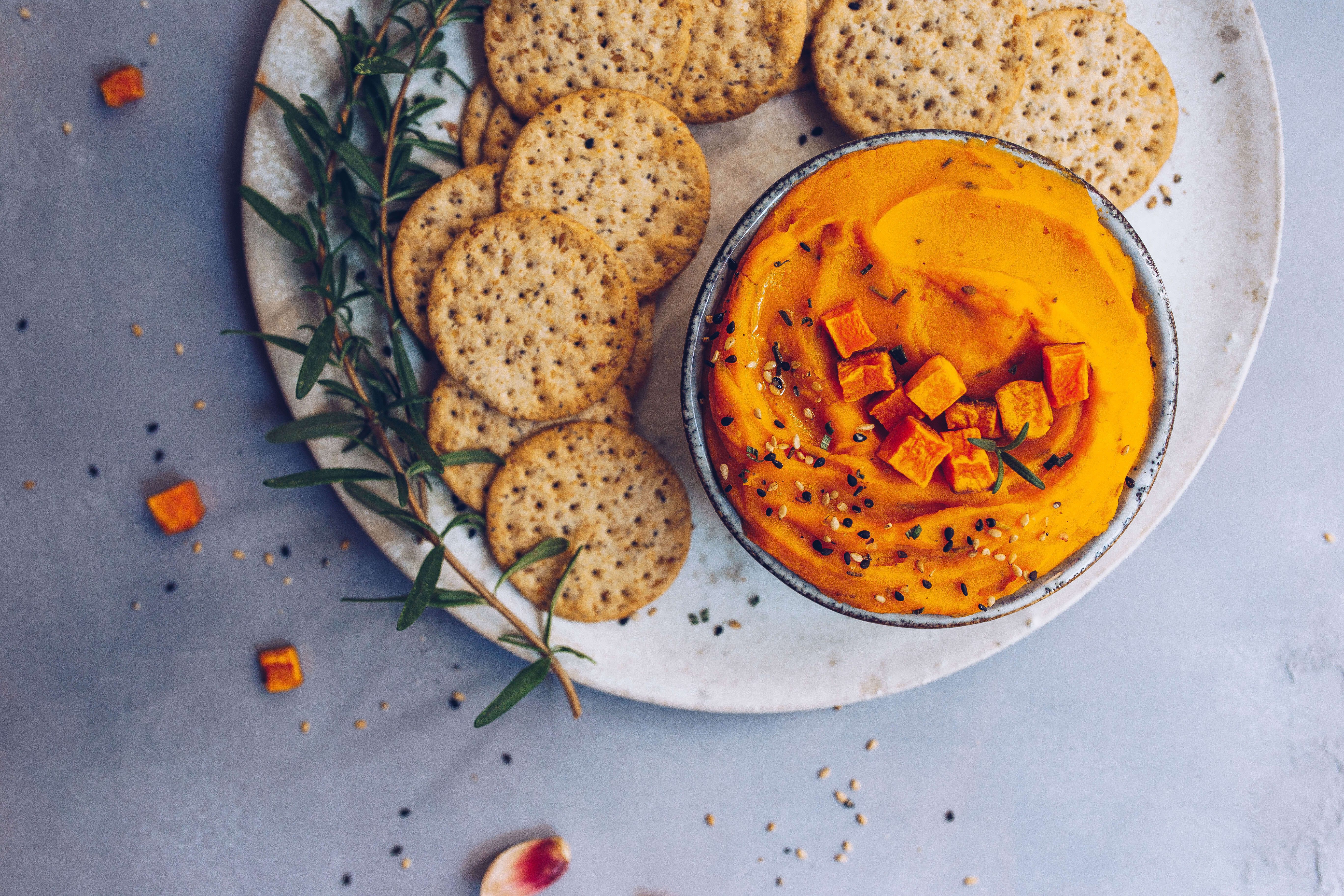Roasted Garlic & Butternut Squash Dip (paleo, AIP-friendly) via Food by Mars