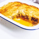 Paleo Spaghetti Squash Pastitsio (Greek Baked Ziti w/ Dairy-free Bechamel) dairy-free, gluten-free, grain-free, low-carb, AIP-friendly via Food by Mars