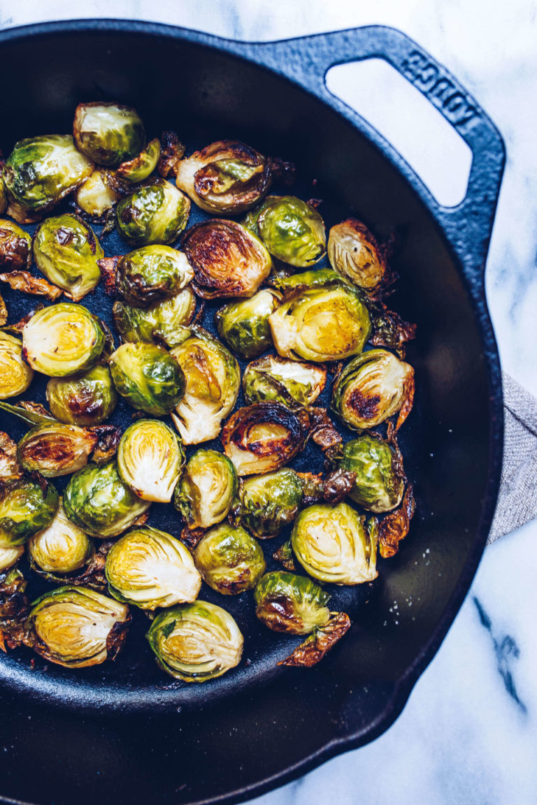 paleo roasted brussels sprouts via food by mars