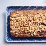 Paleo Carrot Walnut Loaf Cake via Food by Mars