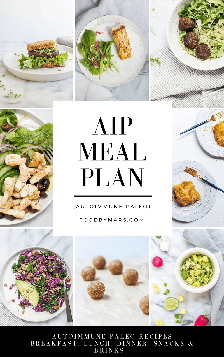 AIP Meal Plan via Food by Mars