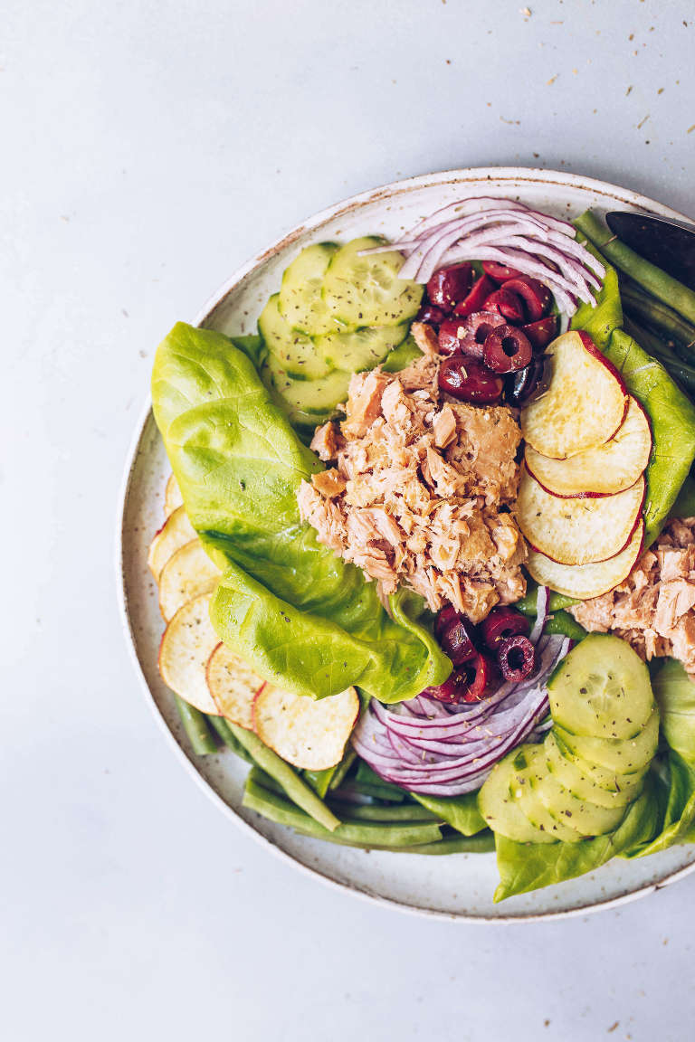 Ahi Tuna Nicoise Salad (Whole30, Paleo-, AIP-friendly) via Food by Mars