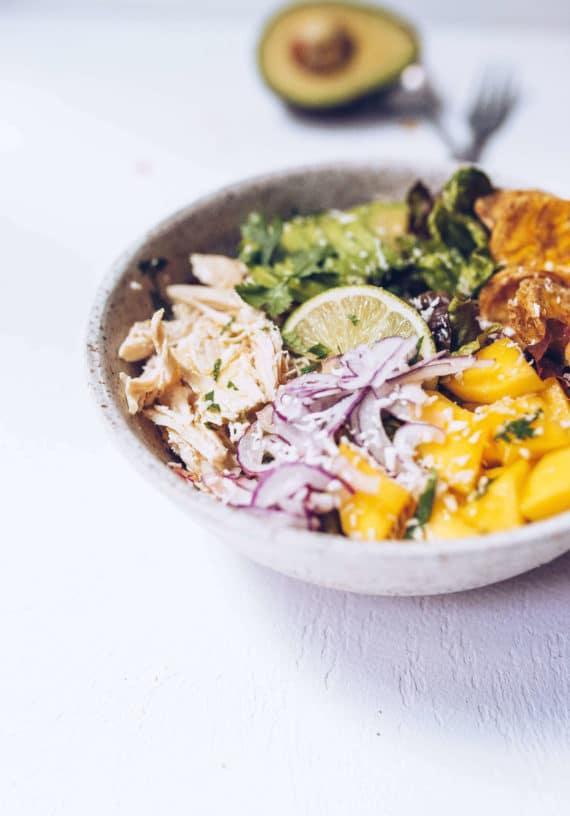 Tropical Chicken Salad (Paleo, AIP, Whole30) via Food by Mars