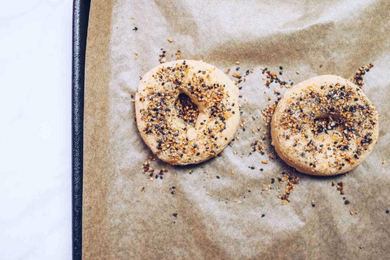 gluten-free and paleo bagels