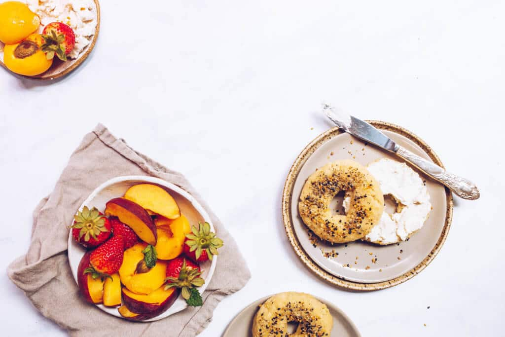 Paleo Everything Bagels (Vegan, Egg-free) via Food by Mars