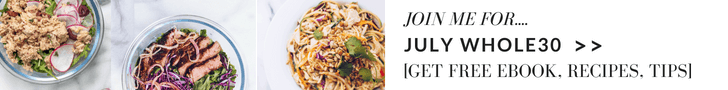 JULY WHOLE30 SIGNUP