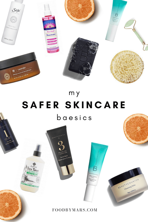 favorite safer skincare products