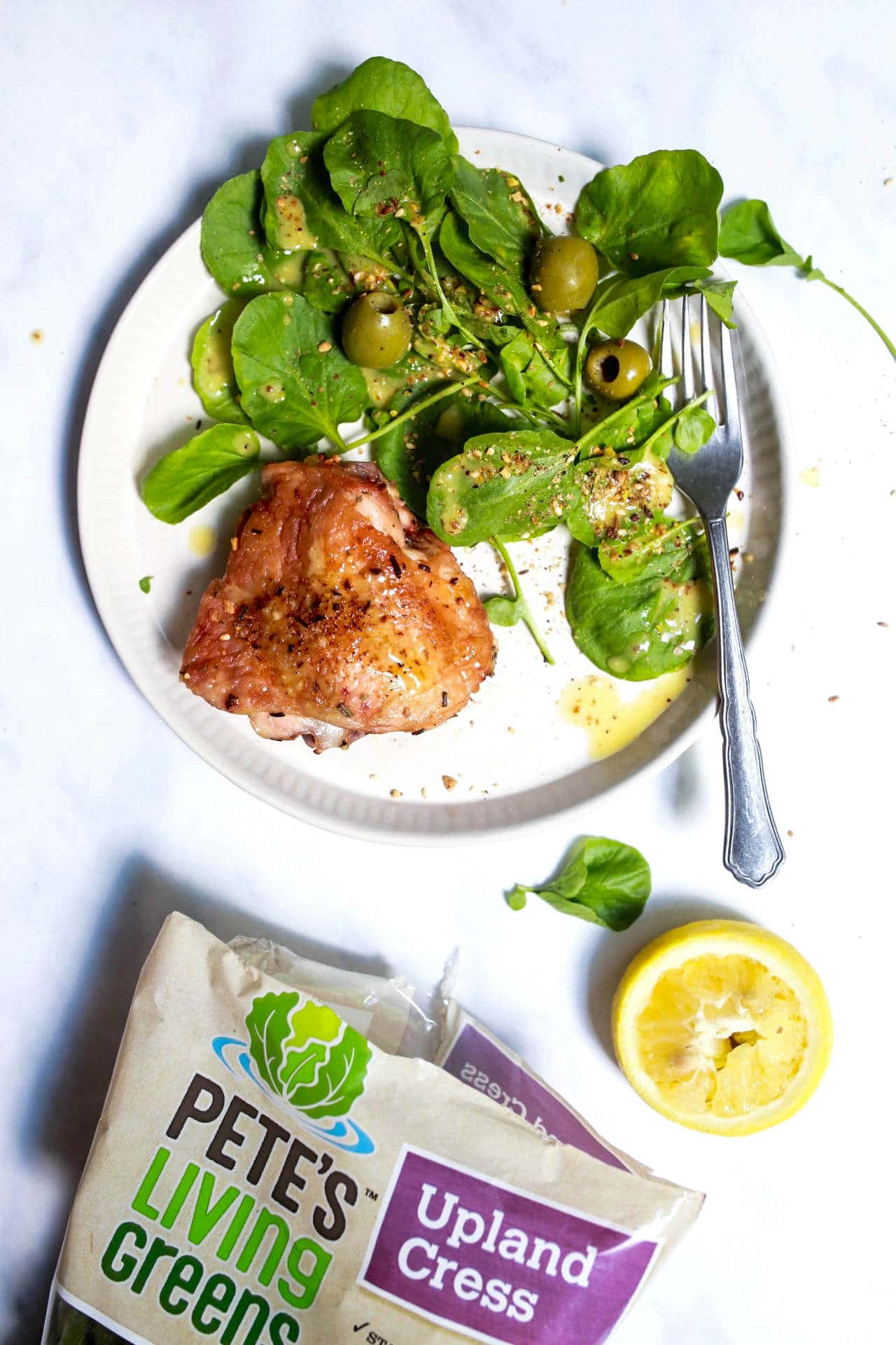 How To Make Watercress Salad with Lemon Vinaigrette recipe