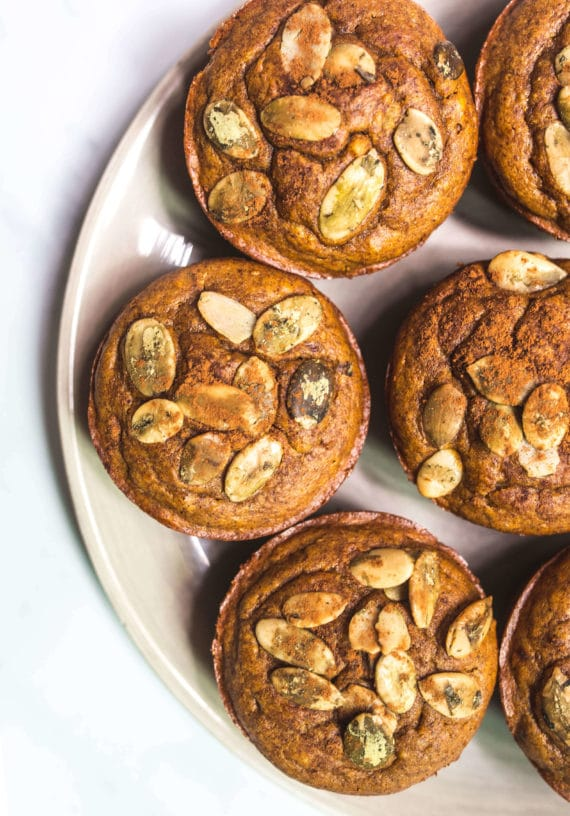 Flourless Pumpkin Muffins via Food by Mars (Paleo, Refined sugar-free, gluten-free, grain-free)