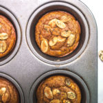 Flourless Pumpkin Muffins via Food by Mars (Paleo, Refined sugar-free, gluten-free, grain-free)