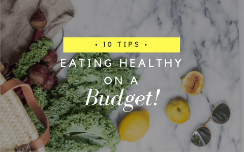 10 tips for eating healthy on a budget via Food by Mars