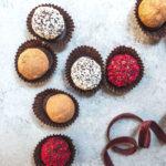 dairy-free chocolate truffles via Food by Mars