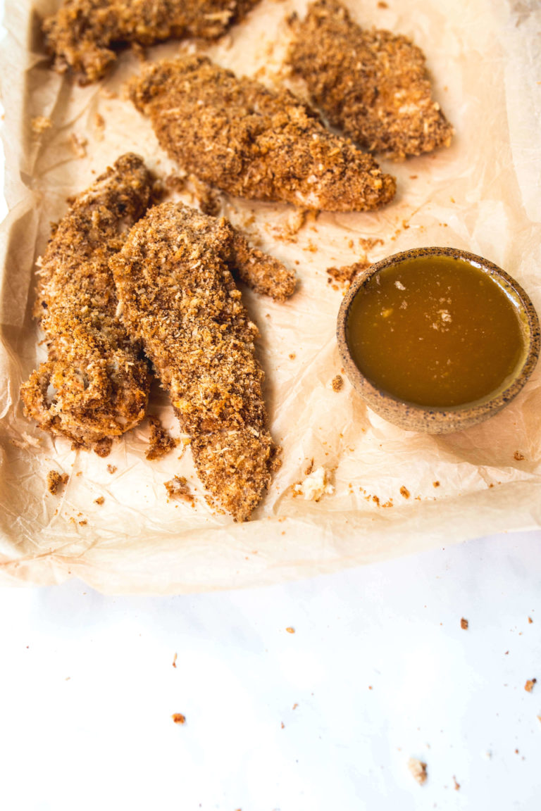 baked chicken tenders via Food by Mars (paleo, AIP)