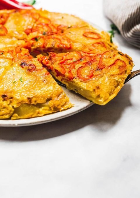 tortilla espanola (whole30) via Foodbymars