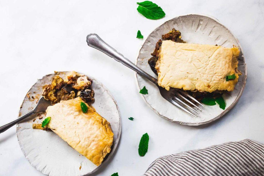 Paleo Moussaka (Greek Eggplant Casserole) - gluten-free, paleo, dairy-free, Whole30 via foodbymars