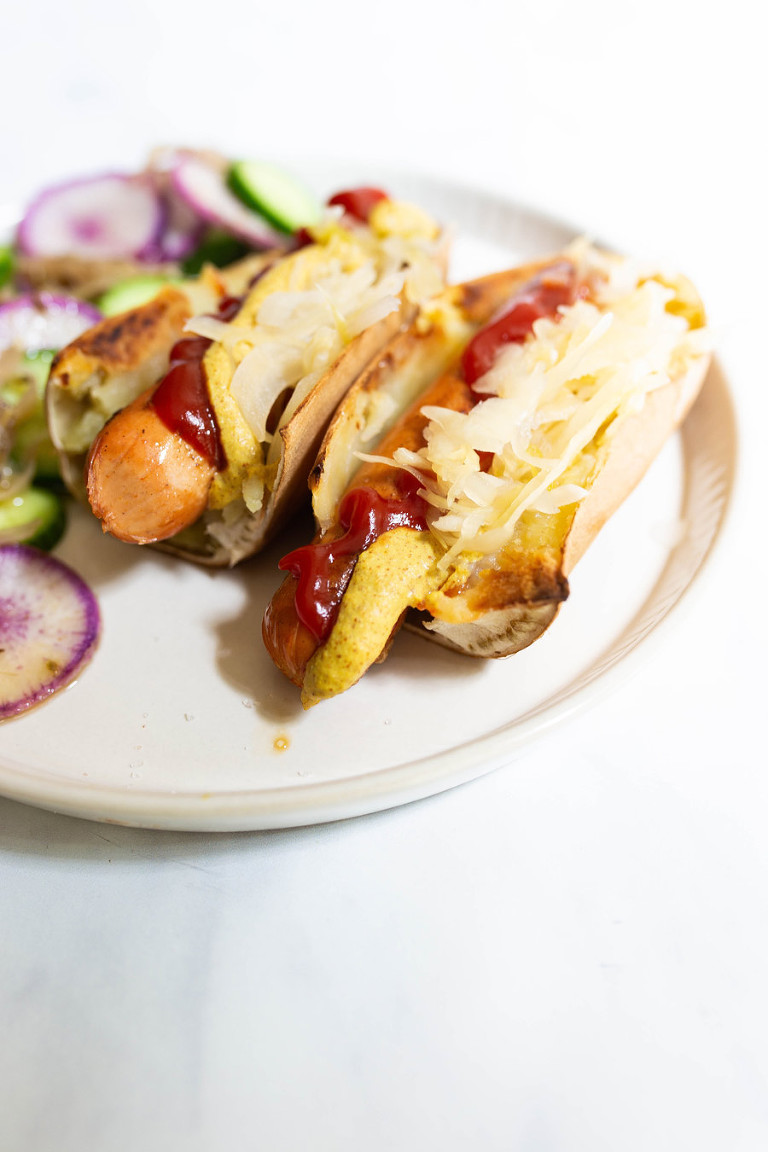 Sweet Potato Hot Dog Buns (Paleo, Whole30, AIP, Gluten-free)