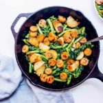 Chicken Sausage and Broccoli Rabe Skillet (Paleo, Whole30) via Food by Mars