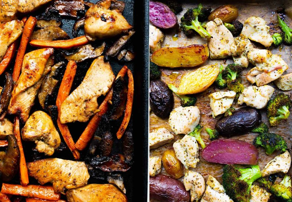 How to make the best, easy sheet pan dinners via Food by Mars