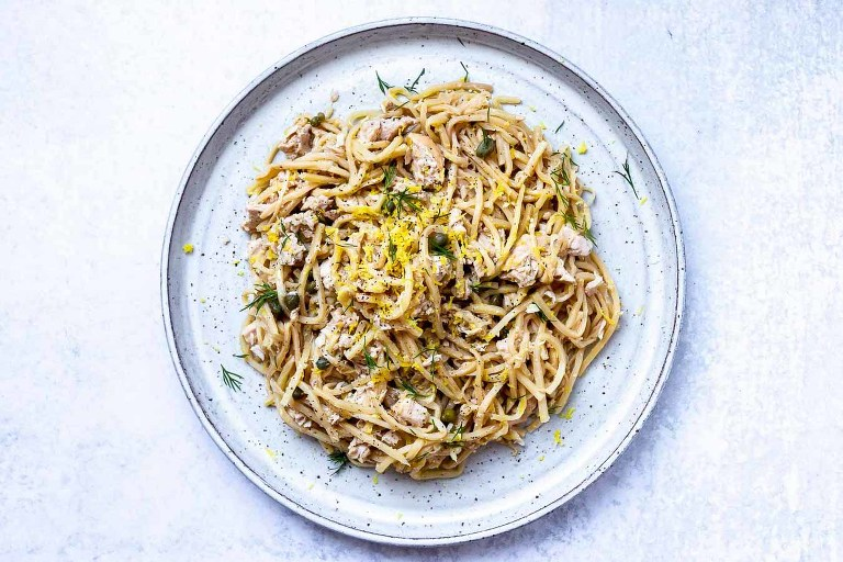 AIP Canned Tuna Pasta (Paleo, Low-carb) via Food by Mars