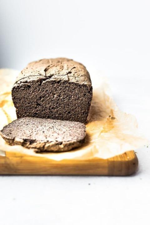 Homemade Gluten-free Buckwheat Flour Bread (egg-free)