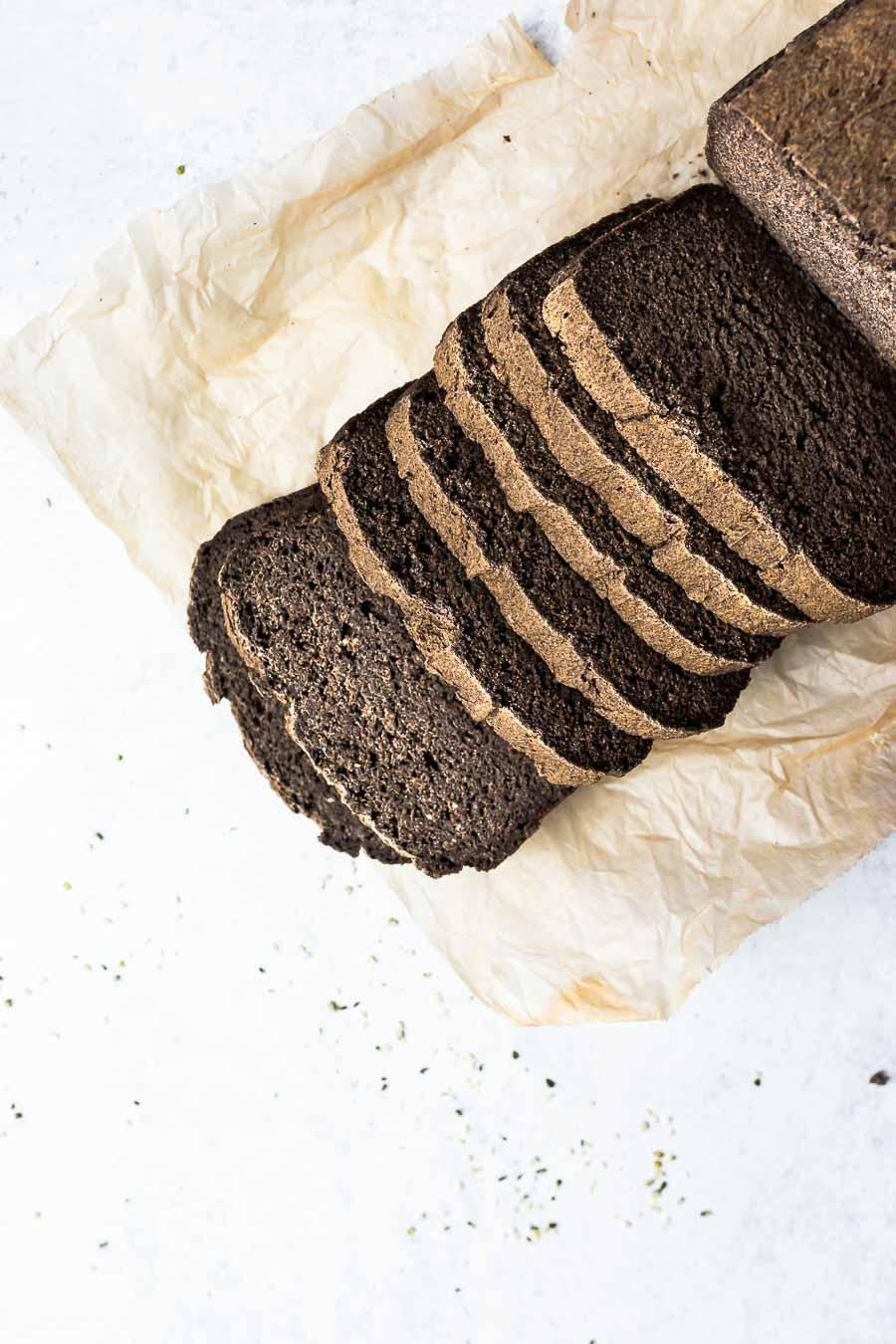 The Best Gluten-free Buckwheat Flour Bread (egg-free)