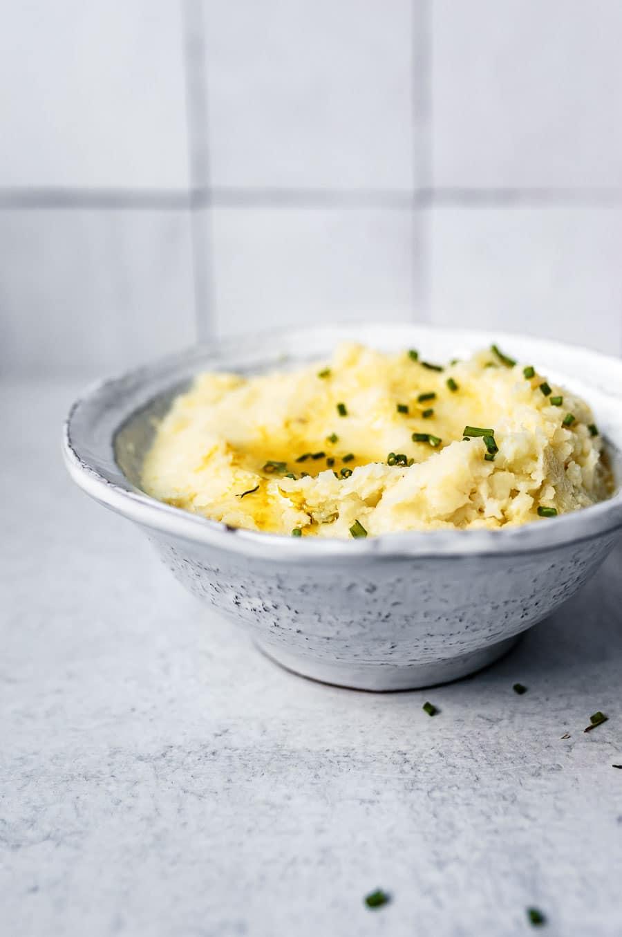 how to make vegan mashed cauliflower
