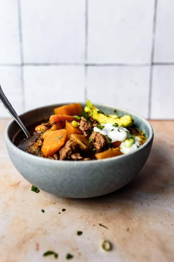 Instant Pot Paleo Chili Recipe AIP chili chili with no tomatoes instant pot chili no beans