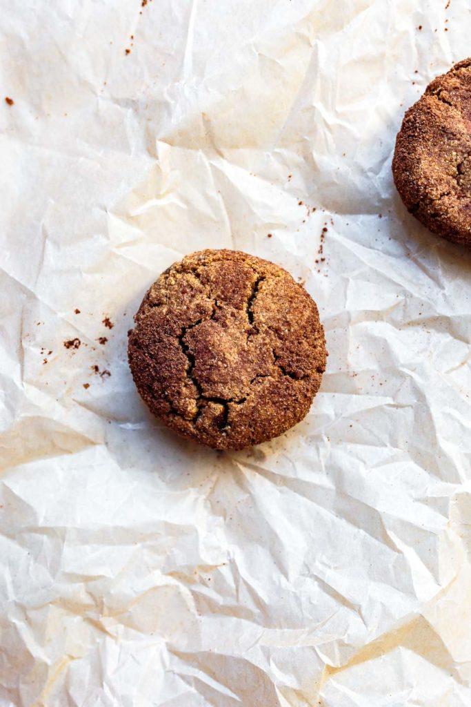 Gluten-free Snickerdoodle Cookies