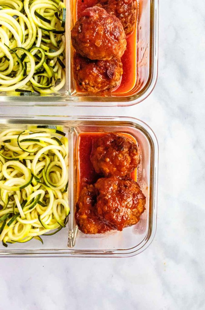 how to make meatballs without egg zoodles