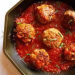 egg-free meatballs