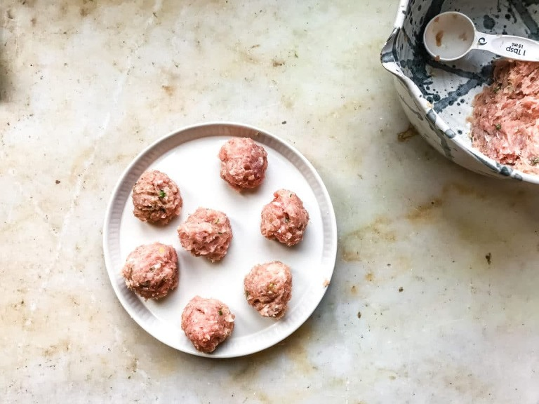 how to make meatballs without egg arrowroot starch