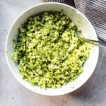 homemade broccoli rice