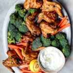 crispy chicken wings without baking powder