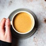 spiced chaga chai latte mushroom latte